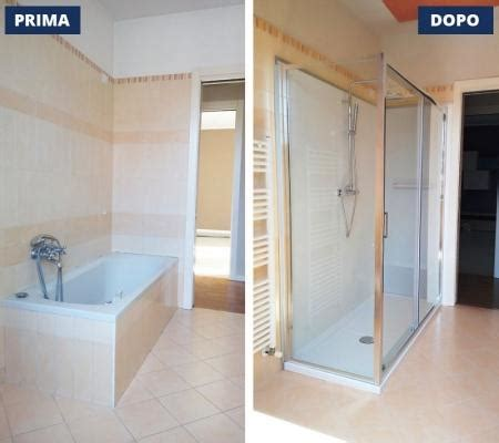 come sostituire vasca da bagno sostituzione vasca con doccia