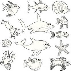 imprimir los dibujos para colorear de narigota pintar con peces para colorear e imprimir vix