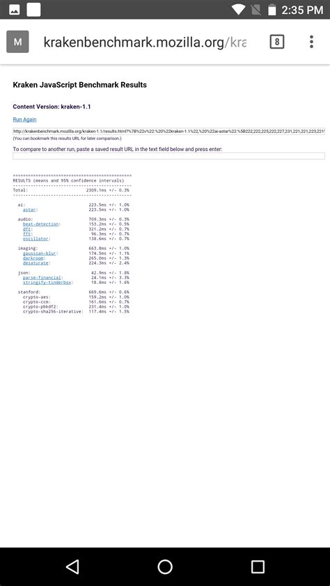 kraken bench обзор и тестирование qualcomm snapdragon 835 аналитика