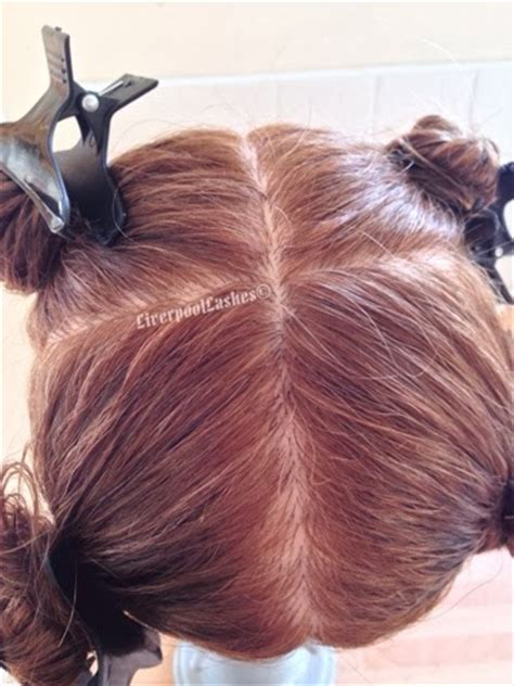sectioning hair liverpoollashes beauty blog hairdressing level 2 the