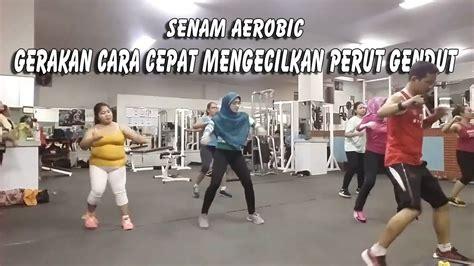 tutorial gerakan zumba senam aerobic gerakan cara cepat mengecilkan perut gendut