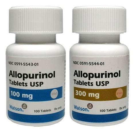 Does Detox Pills Trigger Gout by Allopurinol And Gout