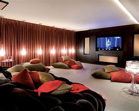 cool home decorations cool movie room decor unique hardscape design make the