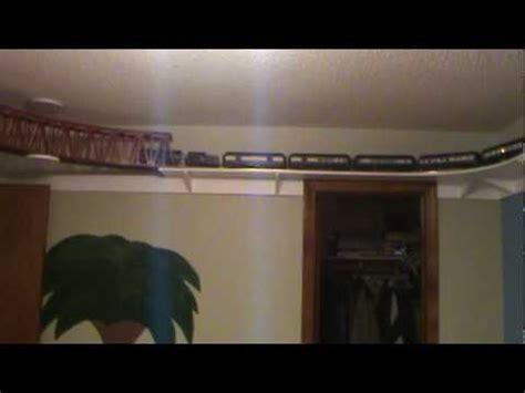 model shelf around the room