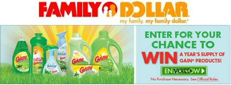 Family Dollar Sweepstakes - family dollar sweepstakes win gain for a year 5 off a 25 purchase good thru 4 8