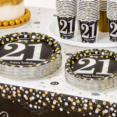 21st Birthday Party Themes & Ideas   Party Supplies