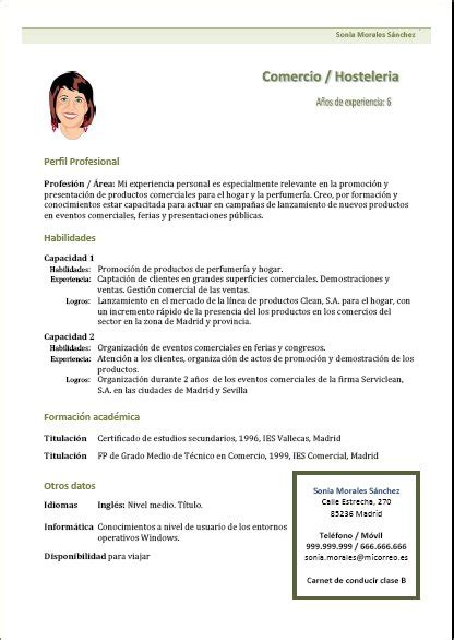 Plantilla De Curriculum Vitae Cronologico Curriculum Vitae Y Carta De Presentacion Modelos Y Motorcycle Review And Galleries