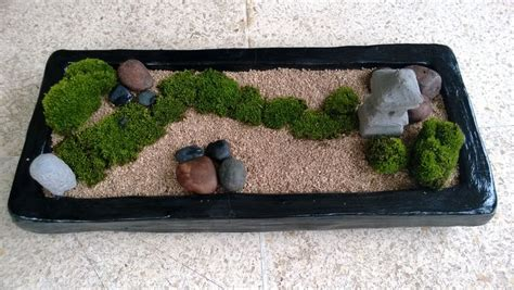 zen garten miniatur black rectangle mini zen garden diy mini zen garden