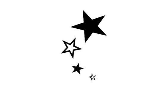 simple star tattoos simple designs for free designs black and