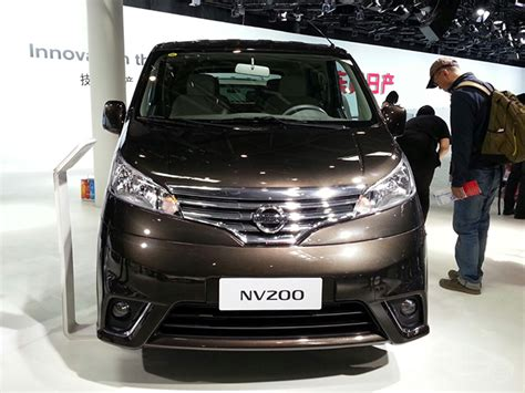 Karpet Nissan Evalia nissan nv200 coming as nissan evalia facelift