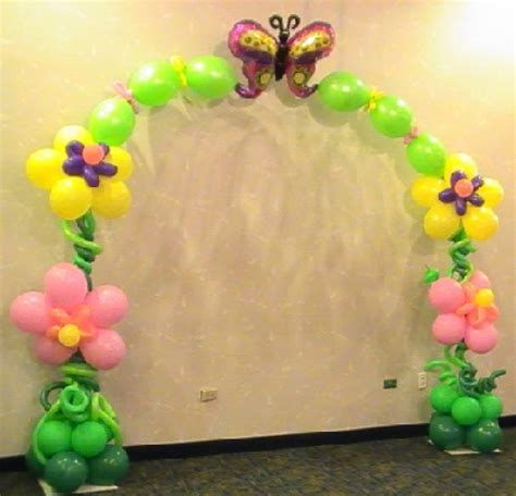 flower pattern balloon arch balloon arches pg 1 party inc balloons