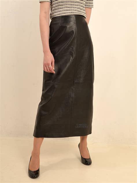 higgs leathers buy bettine mid calf length black