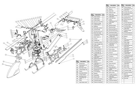 rc helicopter parts diagram rc helicopter diagram