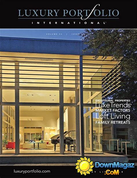 luxury home design magazine vol 15 no 3 187 download pdf luxury portfolio international vol 3 no 1 187 download pdf