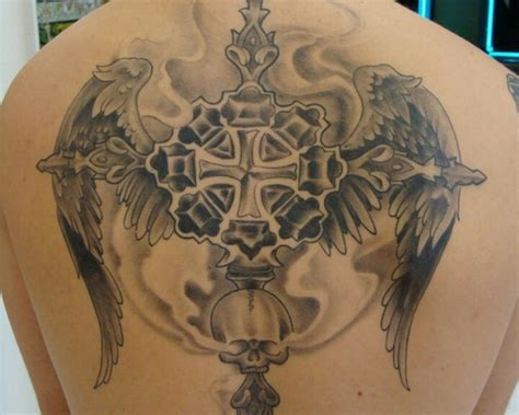crazy cross tattoos cross ideas