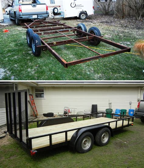 Utility Trailer Cer by Bonus Utility Trailer Plan Jeffdoedesign