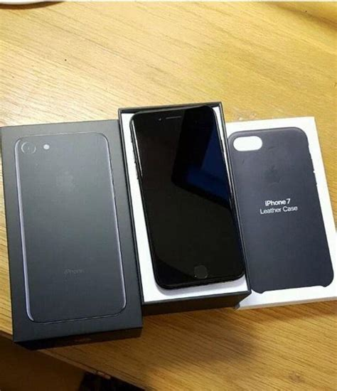 As New Iphone 7 256gb Black Wireless 1 Apple Iphone 7 256gb Jet Black Secondhand My