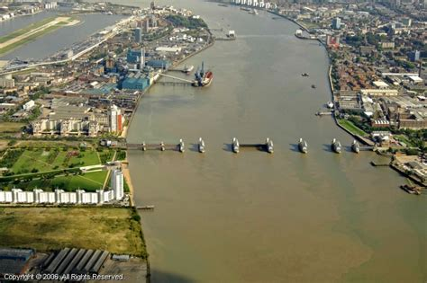thames river marinas ct thames barrier charlton england united kingdom