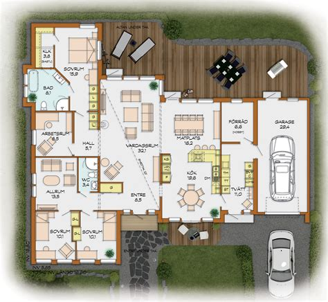 Bungalow House Plan by Deutsch Swed House Part 3