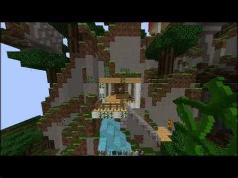 mountain side house minecraft tutorial mountain side house youtube