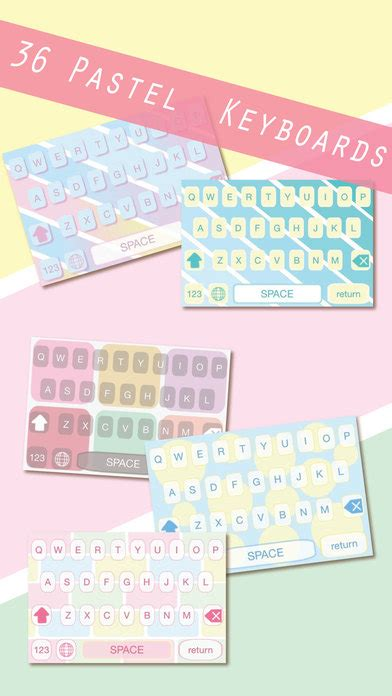 colorful keyboard themes pro pastel color keyboard pro unique iphone backgrounds