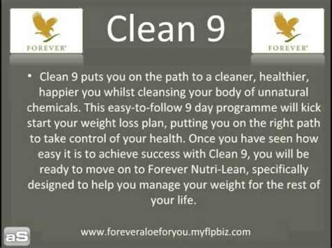 Clean 9 Detox Program by Forever Living Products Clean 9 Detox Program