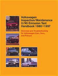 Vw Volkswagen Inspection Maintenance I M Emission Test