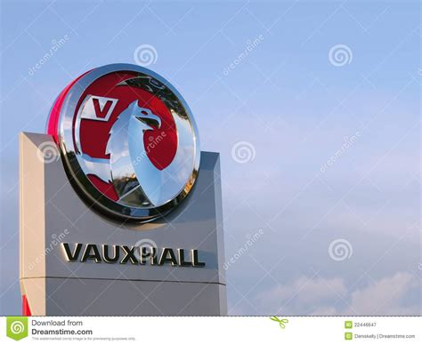 griffin vauxhall vauxhall motors griffin logo editorial photography image