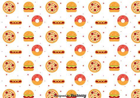 image pattern food flat food pattern download free vector art stock