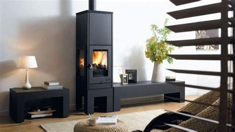 insert cheminee bois cheminee insert moderne