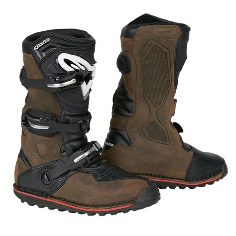 Tech Brown alpinestars motocross stiefel tech t brown ebay