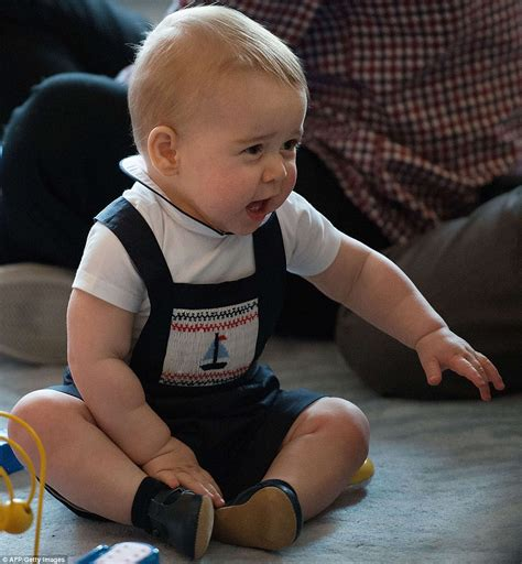 prince george shows new skills at new zealand