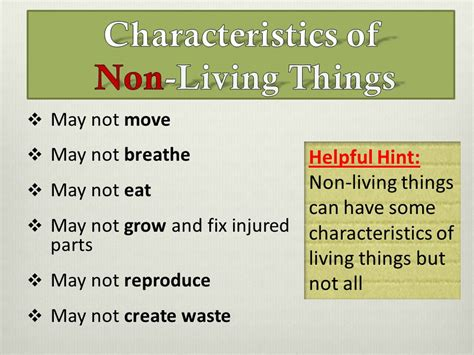 living things non living things the earth pre lesson one ppt video online download