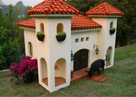 concrete dog house design luxury dog house and bed of natural materials one decor