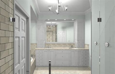 Master Bathroom Design Options Plan 1 Design Build Pros