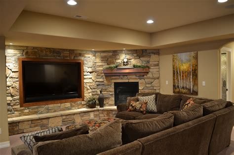 Entertainment Center Ideas Wall Mounted Tv Basement Wall Ideas