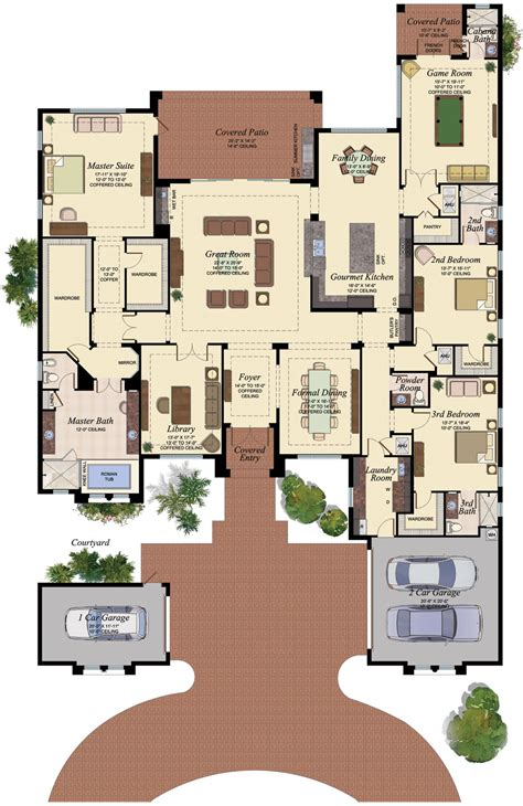 versailles floor plan the bridges in boca raton by gl homes