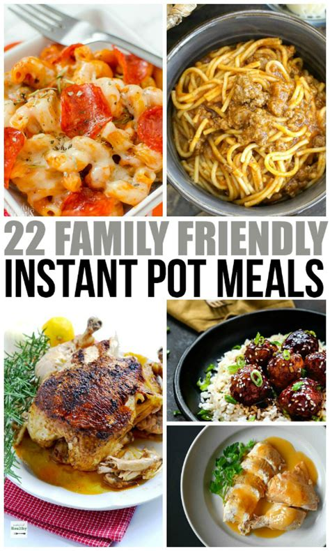 instant one pot meals southern recipes for the modern 7 in 1 electric pressure cooker books family friendly instant pot meals family fresh meals