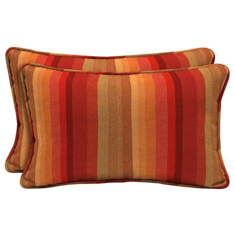 home decorators outdoor pillows home decorators collection sunbrella astoria sunset lumbar
