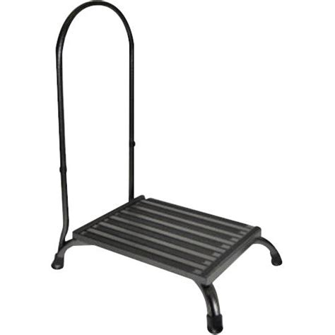 One Step Step Stool With Handle by Convaquip Bariatric Step Stool With Handle Stools