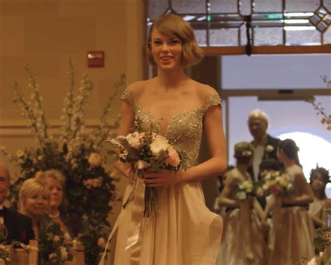 Taylor Swift Gives Maid of Honor Speech in Wedding Video