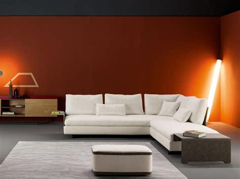 fabric corner sofa with removable covers gossip corner sofa by bonaldo design sergio bicego
