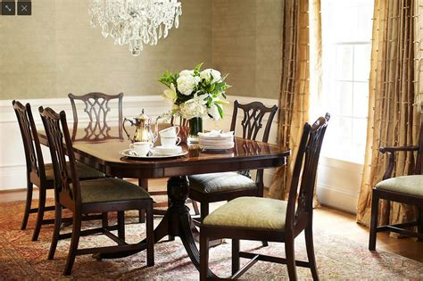 chippendale dining room table images of five or twenty