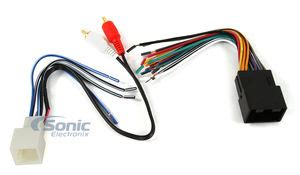 metra 70 5519 (met 705519) car stereo wiring harness for