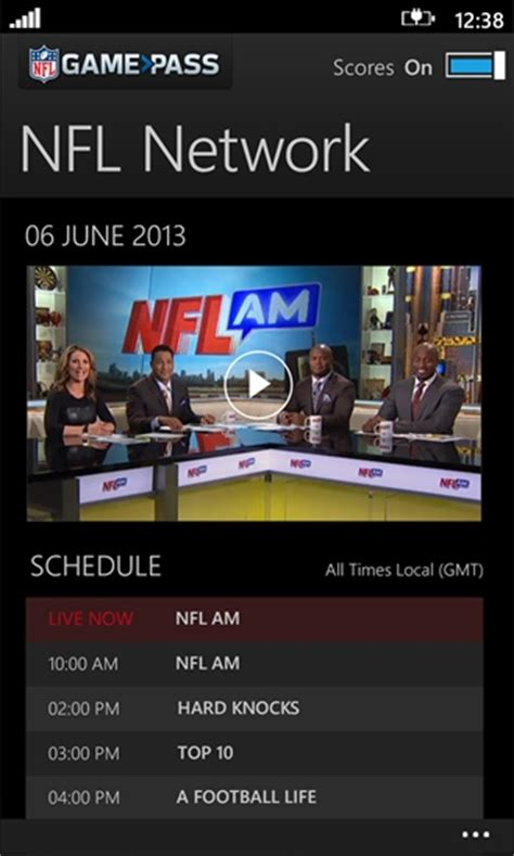 nfl pass mobile app nfl s news and apps bring the 2013 season to windows