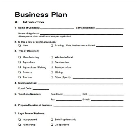 docs business plan template 28 images small business