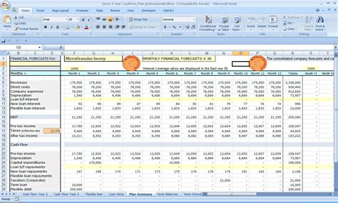 Financial Projection Spreadsheet by Financial Projections Excel Spreadsheet Laobingkaisuo