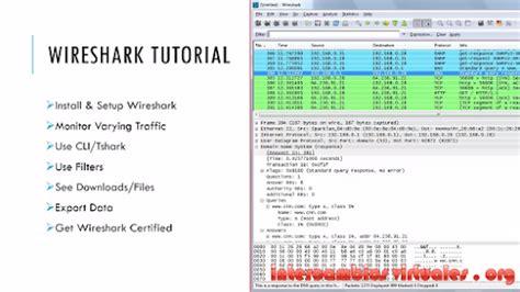 wireshark tutorial laura chappell wireshark certified network analyst laura