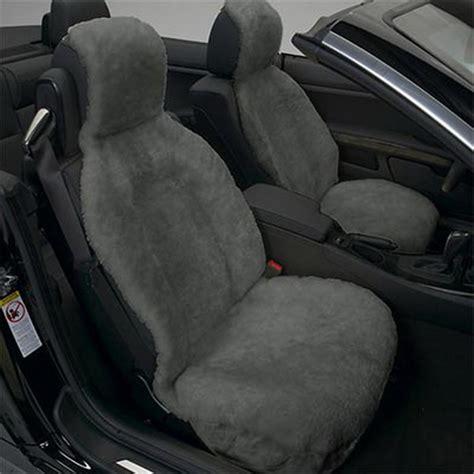 cool car seat covers australia new plush grey sheepskin car seat cover seatcover gray