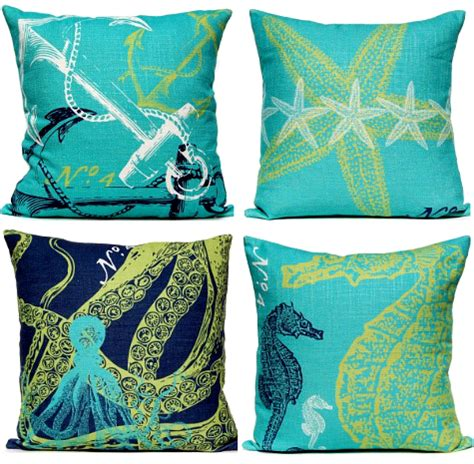 designer pillows coastal and nautical luxury designer pillows completely